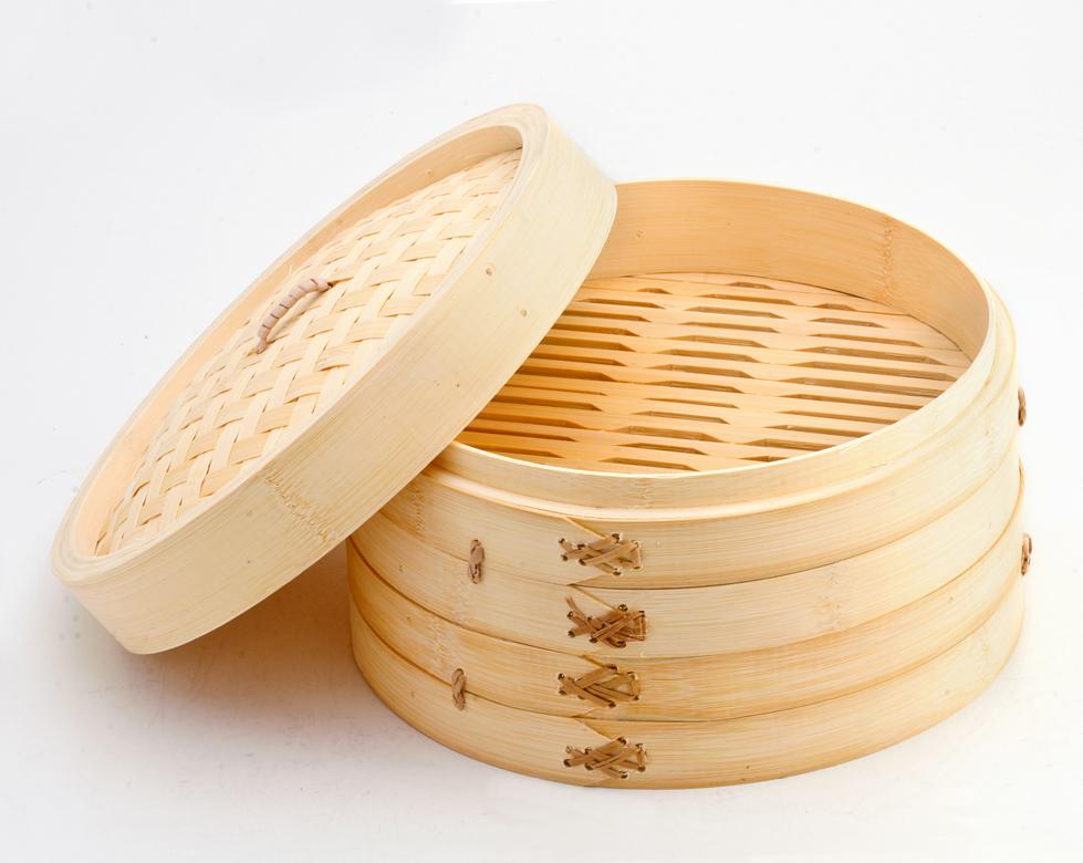 C mo cocinar en una vaporera de bamb paragourmet - Como cocinar al vapor con vaporera ...