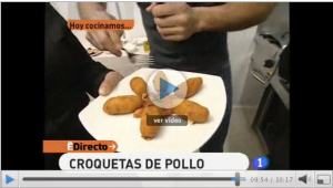 Video receta croquetas de pollo