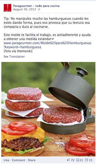 prensador hamburguesa