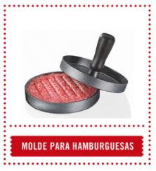 molde de hamburguesa