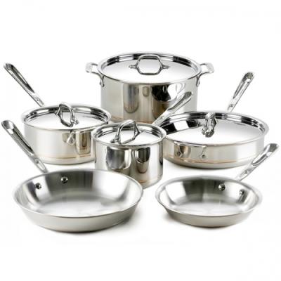 Uso y cuidado de los utensilios de cocina paragourmet for Utensilios cocina acero inoxidable